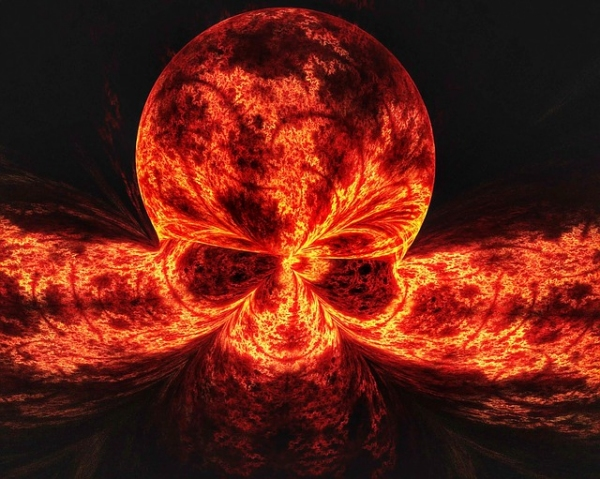 Death Flame Death Head