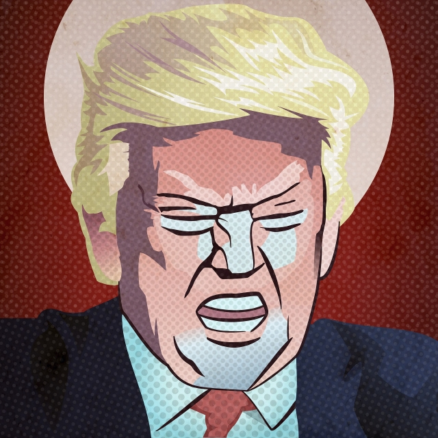 Donald Trump - pop art